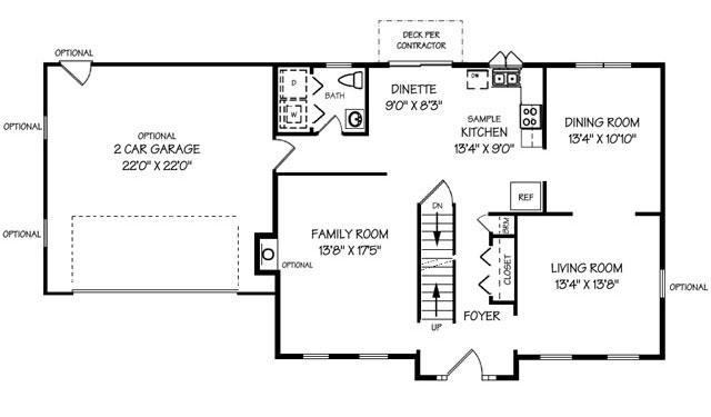 Winchester First Floor